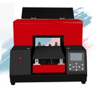 refinecolor good quality multifunction a4 uv LED cmyk inks color laser machinery printer