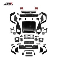 GBT facelift body kit include front rear bumper headlight taillight hood fender for G500 upgrade to G63 for Mercedes Benz G W463