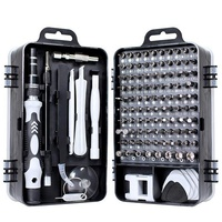 WEEKS 115-in-1DIY portable precision phone repair tools chrome vanadium screwdriver set