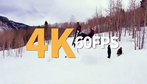 Feiyu Kamera Saku 6-Axis 4K HD Kamera Gimbal Stabilizer 120 Derajat Sudut Lebar Smart Track Built-di Kontrol WiFi untuk Vlog Video