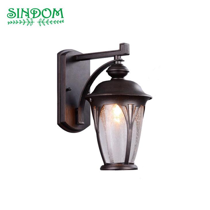 Retro outdoor porch wall lamp balcony lantern light