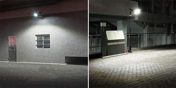 Terpisah Panel Tenaga Surya/Solar Panel Dikenakan LiFePO Baterai Lithium Cadangan 50W 70W 120W Lampu Jalan PJU Tenaga Surya untuk Pedesaan Perkotaan peta Negara Street