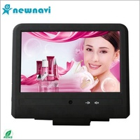 New 2020 built-in wifi Taxi Advertising Player 10.1 inch touch screen Android car headrest monitor
