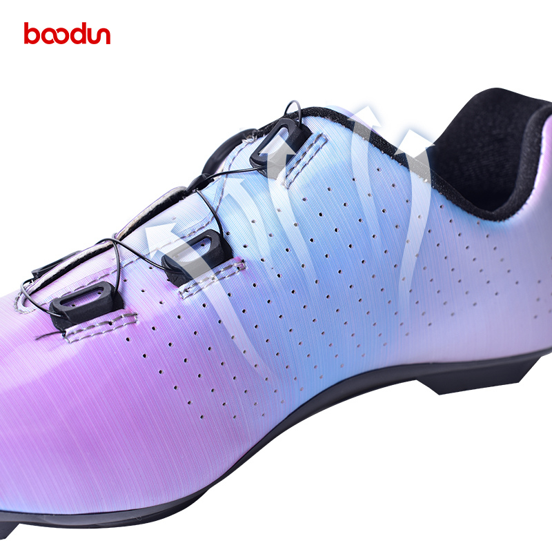 Cycling Accessories Breathable Self-Locking Shoes Road cycling shoes supplie Bike Lock Shoes
