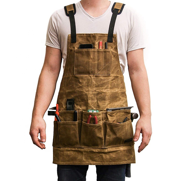 AFTAYWTA036 Tool Apron With Pocket Garden Aprons Customized Logo
