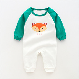 Autumn baby romper jumpsuit baby clothing baby romper organic cotton