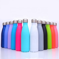 Hot sale multicolor stainless steel thermos outdoor sports bottle bowling Coke bottle Coke Cup