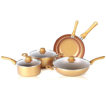 Eco-friendly and healthy nonstick cookware set