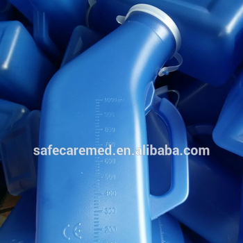 sterile plastic male urine collect bottle