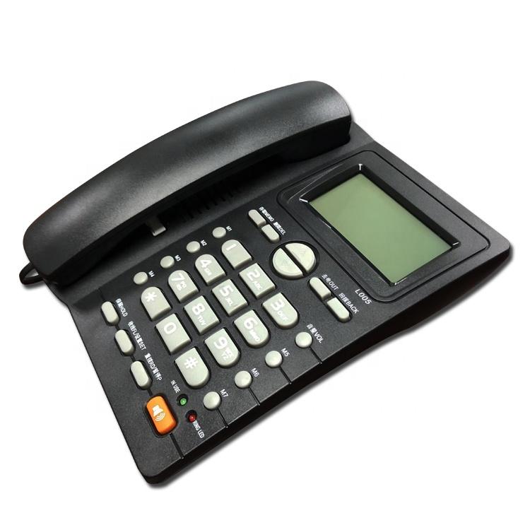 Pabrik Grosir Telepon ID Pemanggil Telepon Kabel Landline Hotel Rumah Kantor Telepon