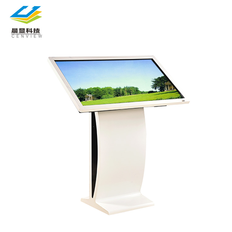 43 lcd verticale reclame-speler display monitor kiosk, 43/50/55/65 inch interactieve touch screen multimedia kiosk