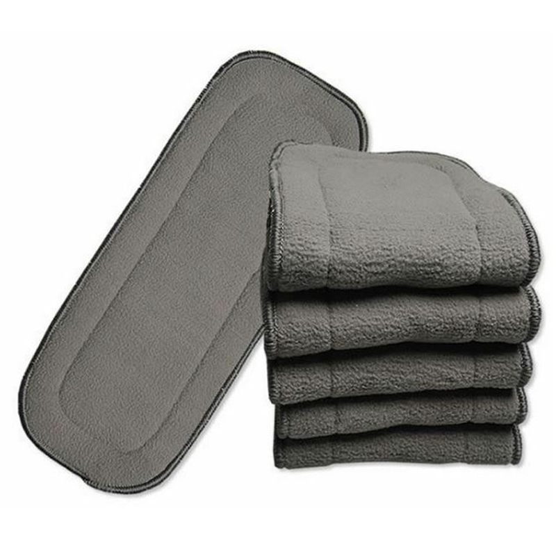 Washable Bamboo Charcoal Diaper Insert Cloth Diaper Insert