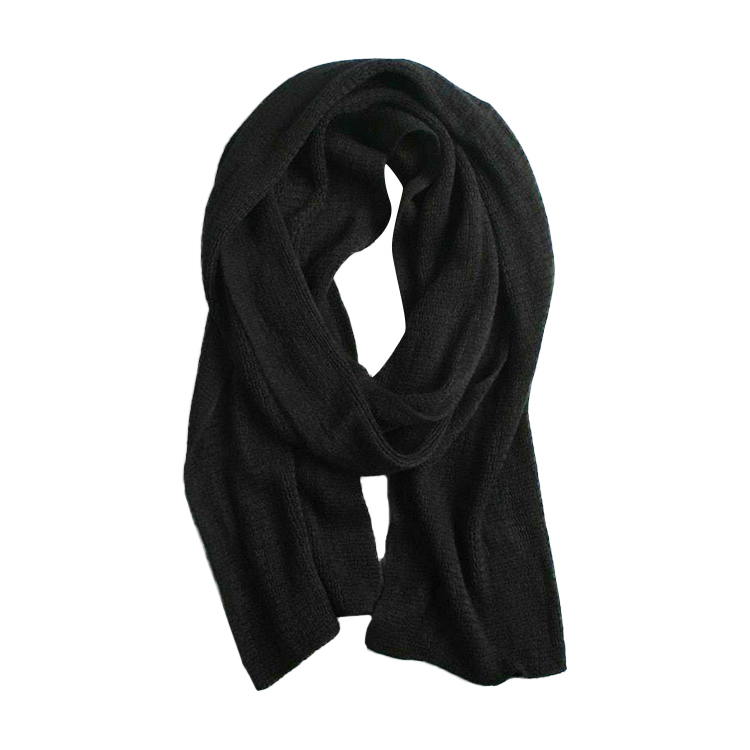 Wholesale long yarn dyed winter keeping warm neck woman wool knitting scarf