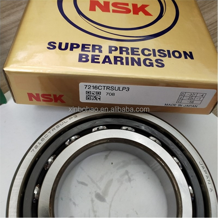 Fast delivery original brand NSK 7010A 7010C Angular contact ball bearing for sale