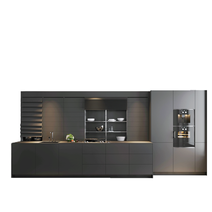 Modern style kitchen cabinet interior cabinet <strong>design</strong> whole house cabinet with free 3D <strong>design</strong>