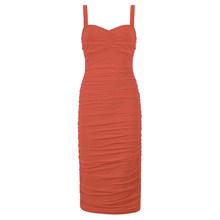 PB 2020, бесплатная доставка, женское платье, сексуальное, на бретельках, v-образный вырез, Драпированное, облегающее платье, праздничное платье...(Китай)