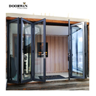 Glass Doors California Architectural Residential Project Storefront Commercial Thermal Break Aluminum Glass Folding Doors