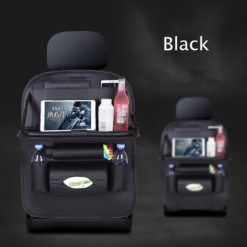 Органайзер в багажник на заднем сиденье Многофункциональный органайзер для автомобильного сиденья Органайзер в багажник авто сумка для хр...(Китай)