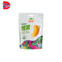 China good surface-printing matt oil aluminium foil leisure food packaging for snack nut
