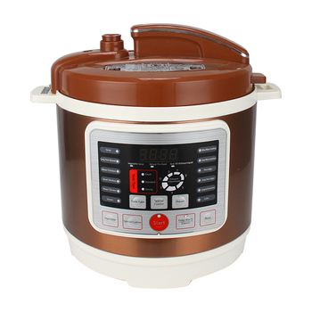 8L large capacity customizable stainless steel non-stick electric pressure cooker