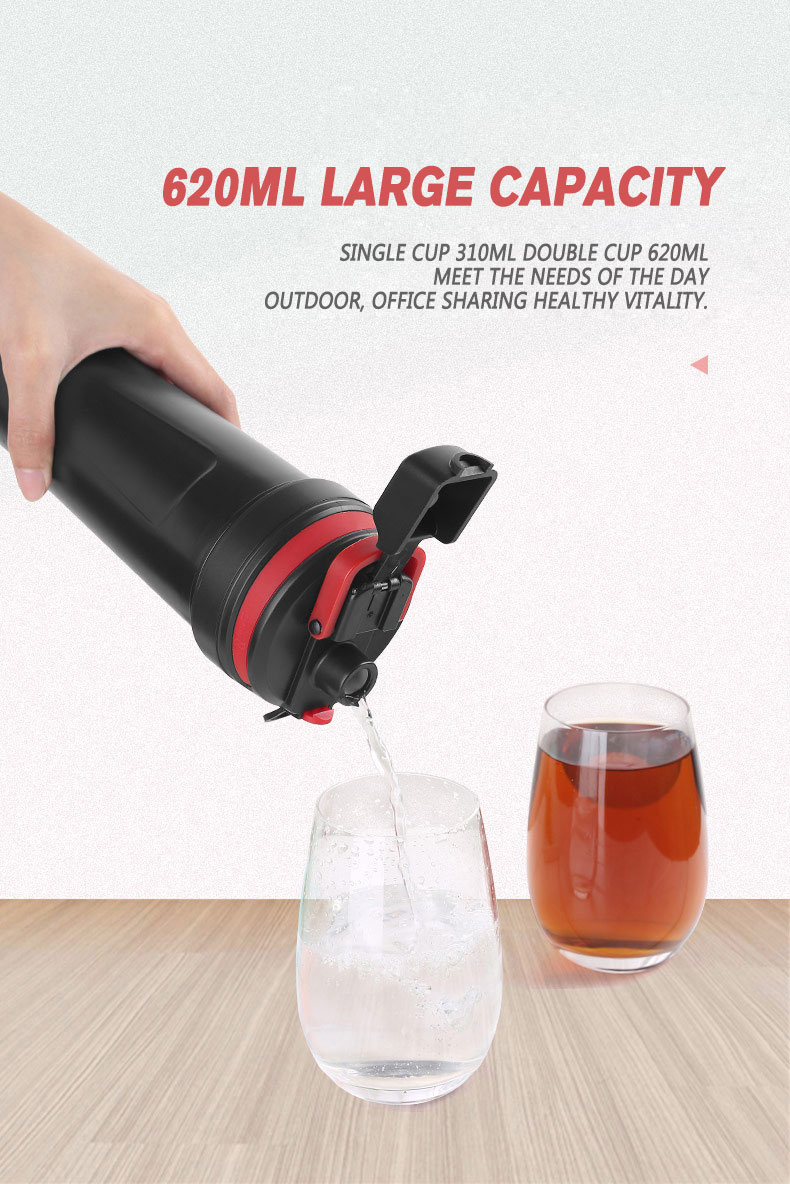 Switcher Switching Sport Cup, Multi-Functional Hot and Cold Water Drinking Cup