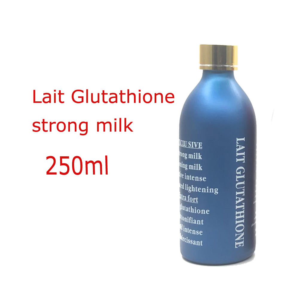 OEM/ODM Private Label Lait Glutathion starke milch 250ml Extreme Bleaching Haut