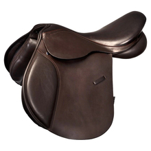 Occidentale Marrone Cavallo Sella In Vera Pelle <span class=keywords><strong>Equestre</strong></span> Saltare In Sella <span class=keywords><strong>Treeless</strong></span> Sella