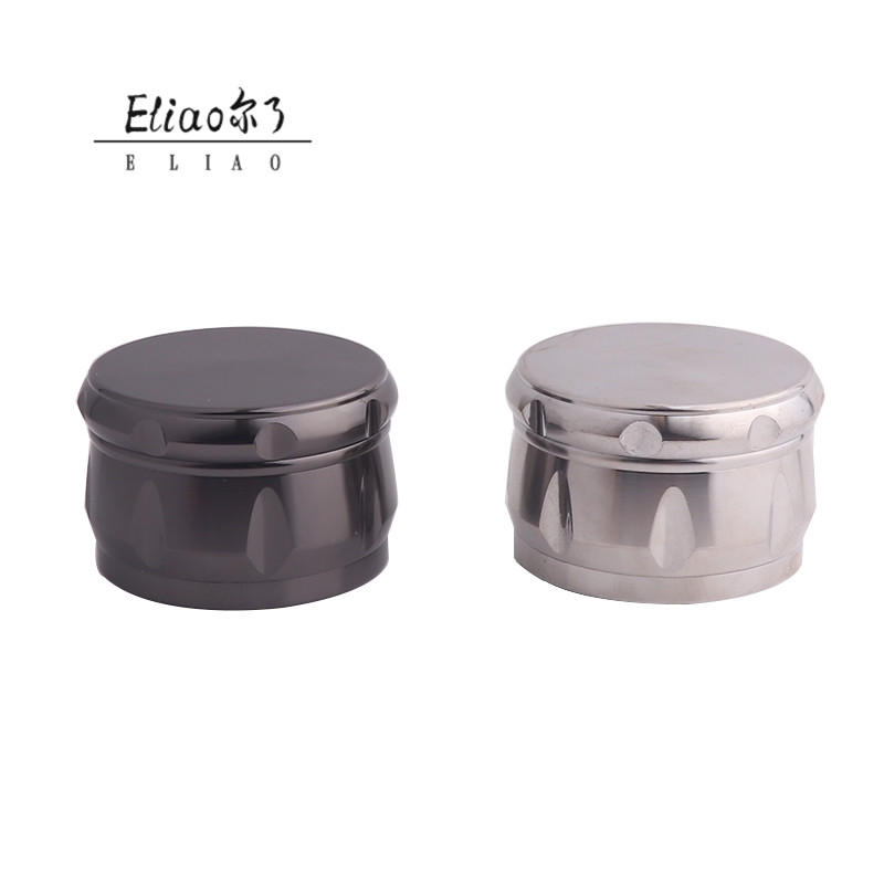 Custom Logo Mini Metal Tobacco Herb Grinder High Grade Grinder 2 layer