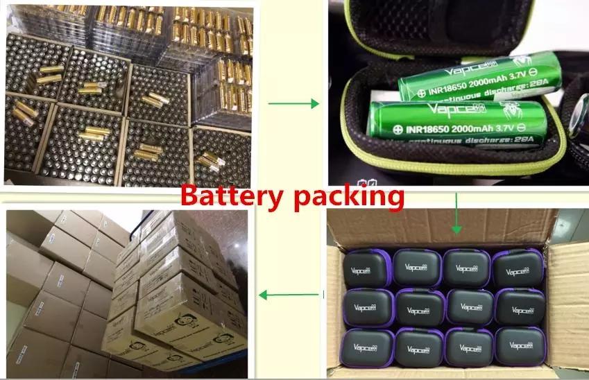 Vapcell 20700 3100mAh 30A Battery Better Than NCR20700A, INR20700 battery golden