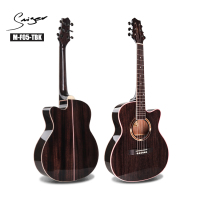 "36"" inch 3/4 Size Affordable Solid wood high quality mini acoustic travel guitar"