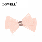 Wholesale korean Acetate Hair Clip bowknot elegant Charming Girl Lady Bow Clip hair accessories for women