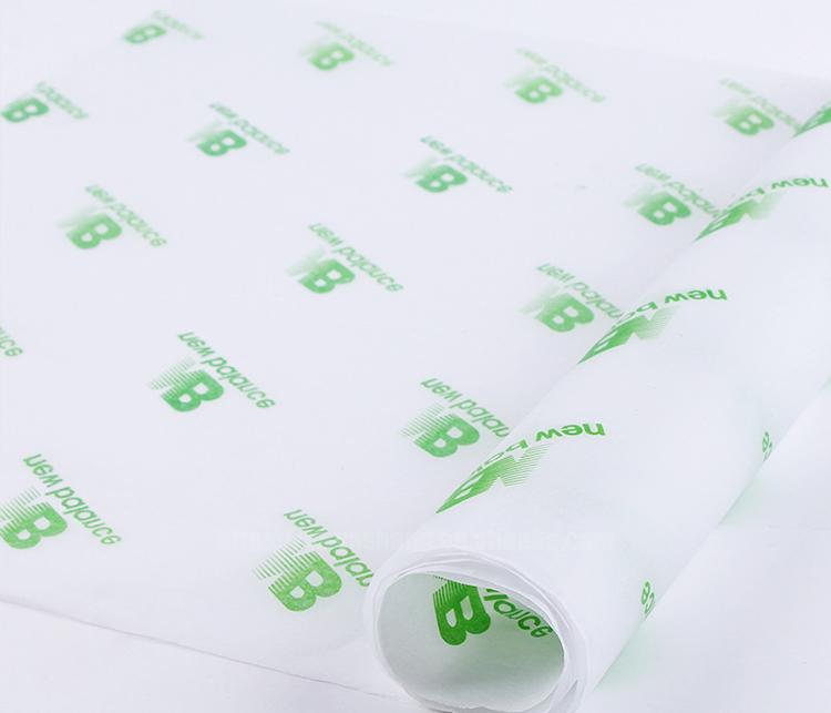 Sliver  logo panton wrapping paper custom printed tissue paper