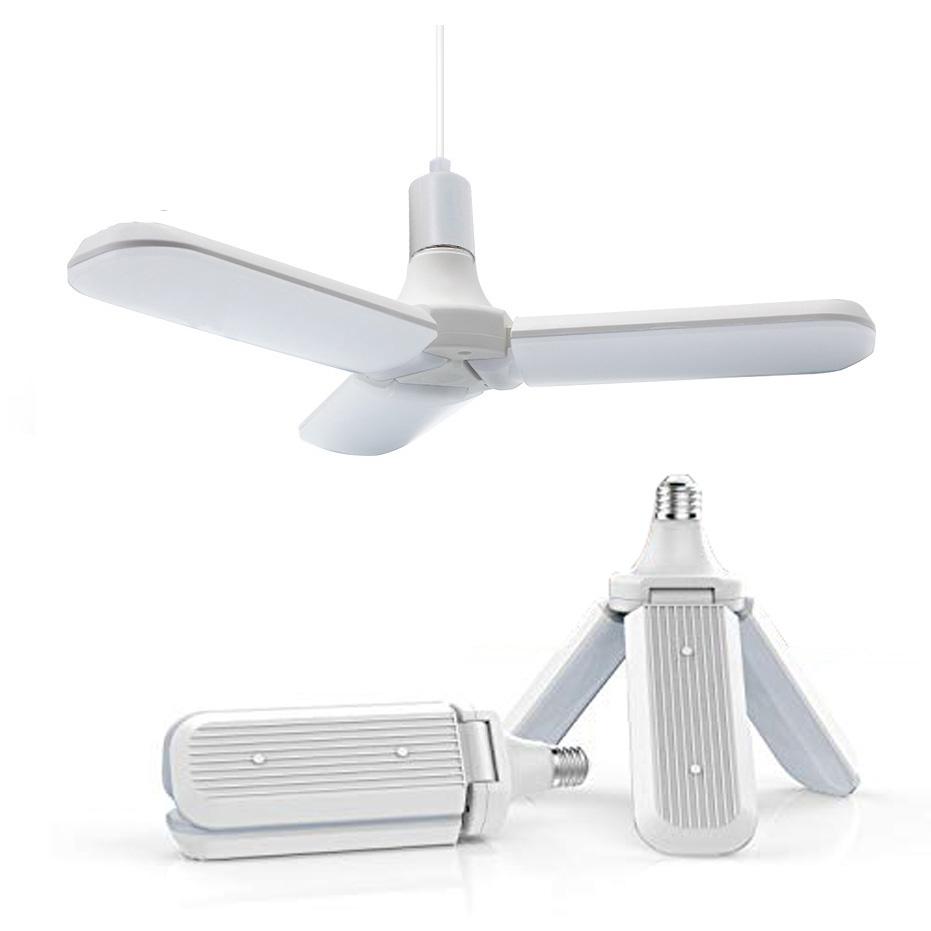 Foldable Fan Blade LED Bulb AC 85-265V SMD2835 72LEDS Angle Adjustable led Lamp Home Energy Saving Lights Lighting