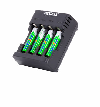 2019 super battery charger 8146 AA AAA Ni-MH Ni-CD Charger Micro USB 5V 1.0A black blue orange three colors