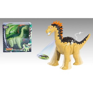 Promotional Plastic Toy Long Neck Dragon Dinosaur Model Plastic Laying Eggs Cartoon Animal Toys