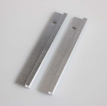 Anodized Aluminum Holder Door Seal For Single Hollow Metal Doors
