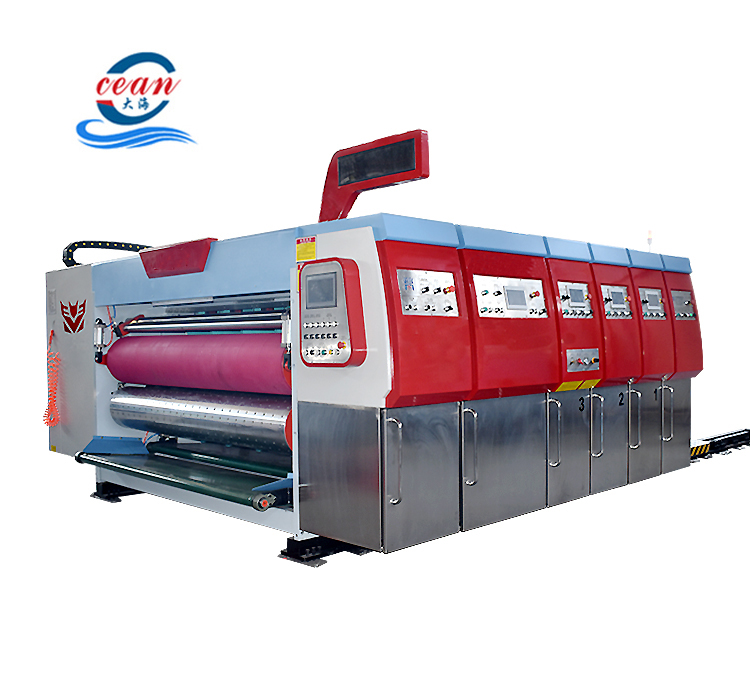 Automatic corrugated cardboard pizza box making machine carton box making machine prices