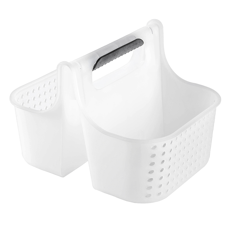 Daily Laundry <strong>Storage</strong> <strong>Basket</strong> Portable Double <strong>Basket</strong> <strong>Bathroom</strong> Plastic Shower <strong>Basket</strong>
