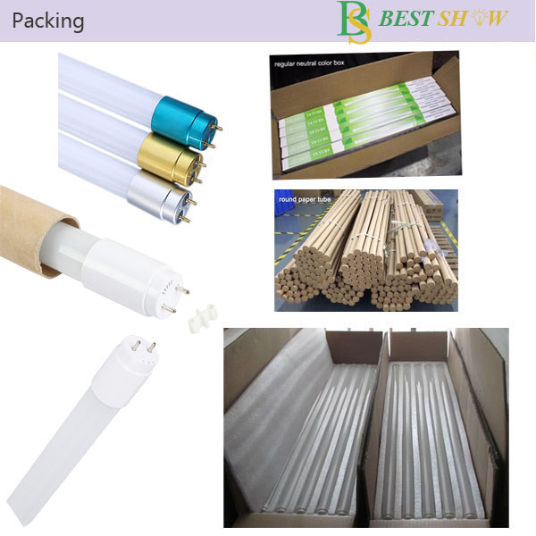 110lm/w G13 triproof plastic dimmable 300mm 600mm 1200mm 1500mm 2ft 4ft 5ft 9w 10w 18w 20w 25w 30w T5 glass led tube t8
