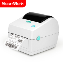 Soonmark Hoge Snelheid 4 Inch Usb Desktop Direct <span class=keywords><strong>Thermische</strong></span> Barcode Sticker Verzending Label Printer 4X6 Prijsvoordeel