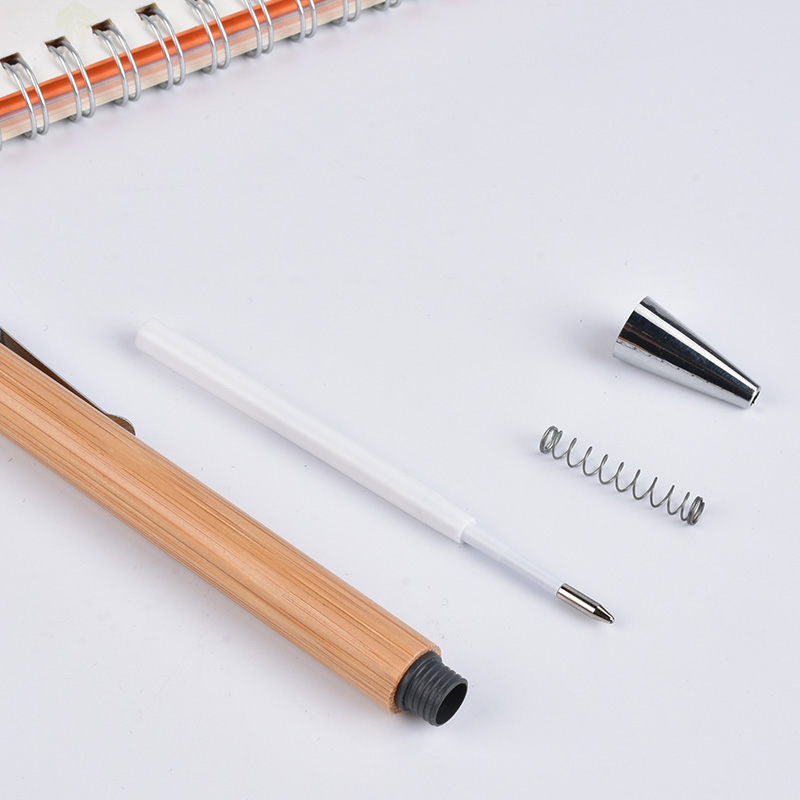 eco friendly pens bamboo ballpoint pen  custom logo wood pen