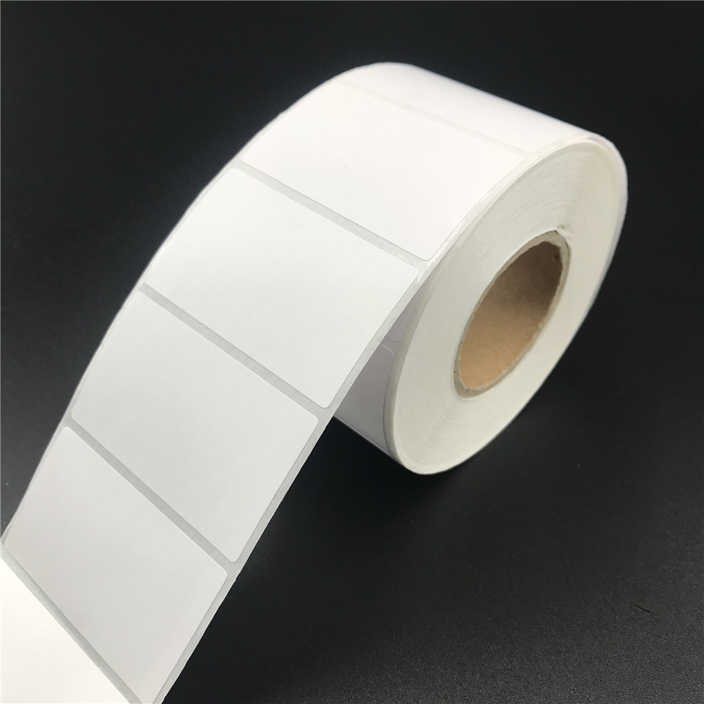 Label Blank Thermal Paper Roll Compatible Direct Thermal Print Sticker Labels Paper Stickers Printing
