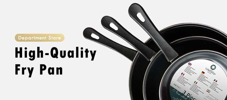 Non Stick Factory Wholesale Ceramic Coating Egg Frying Pan