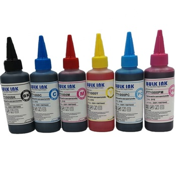 100ml 500ml 1000ml 1l refill bulk ink universal water based universal dye ink for CANON EPSON HP BRO