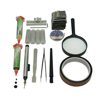Wholesale~bga reballing pack:directly heating bga reballing kit+219pcs stencils(directly heat)+...,good bga reballing kit,hot!