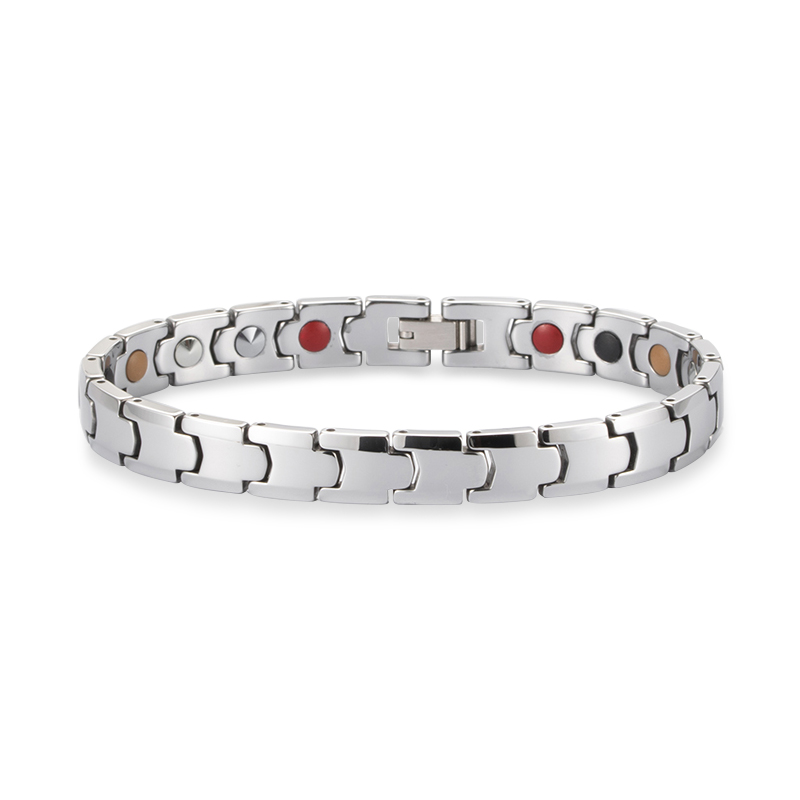Trendy Design Tungsten Blood Pressure Ion Power Therapy Healthy Bio <strong>Magnetic</strong> <strong>Energy</strong> <strong>Bracelet</strong>