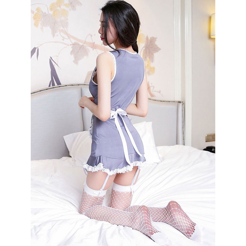 3 pièce Sexy Servante Costumes Maid Cosplay