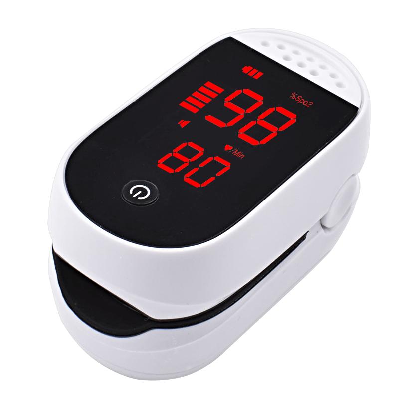 High quality LED digital display oxygen saturation Spo2 sling portable finger pulse oximeter