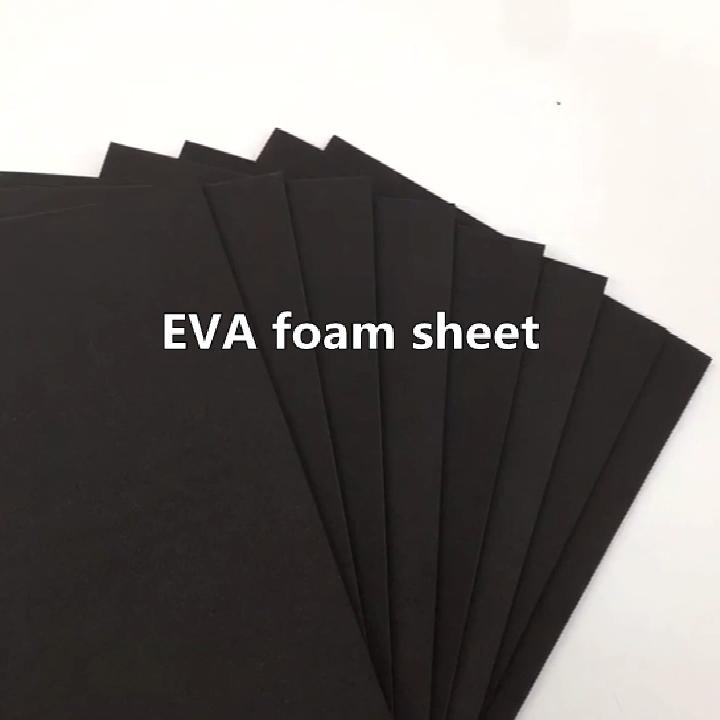 בתפזורת סיטונאי 10mm שחור קצף לוח eva קצף גיליון 20mm 5mm צבעוני קצף גיליונות