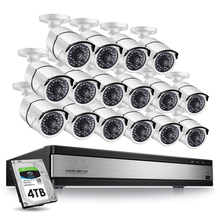 Sistema Inalámbrico <span class=keywords><strong>16Ch</strong></span> cámara remota Nvr Kit Wifi Smart Security Mini 16 canales 2019 tipo exterior Dvr FHD Hd <span class=keywords><strong>Cctv</strong></span>